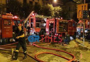 Θεσ/νίκη – Πυρκαγιά σε διαμέρισμα:Απεγκλωβισμοίκαι 10 άτομα στο νοσοκομείο (VIDEO)