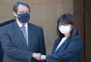 Συνάντηση Σακελλαροπούλου – Αναστασιάδη: Ζήσαμε δύσκολες στιγμές