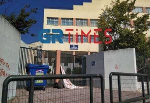 Ένταση στην Καλαμαριά έξω από το 10ο Γυμνάσιο (ΦΩΤΟ-VIDEO)