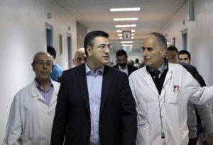 Παράδοση 40 οικίσκων για διενέργεια τεστ κορωνοϊού στα νοσοκομεία Κεντρικής Μακεδονίας