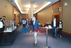 Συνάντηση Τσίπρα με παραγωγικούς φορείς της Θεσσαλονίκης (ΦΩΤΟ)