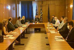 Σύσκεψη ΥπΑΑΤ – ΕΛΓΑ υπό τον Υπουργό, Μάκη Βορίδη
