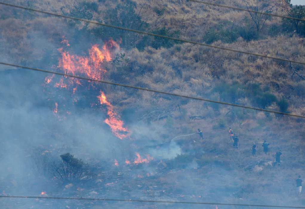 Φωτιά στο Μακροχώρι Καστοριάς