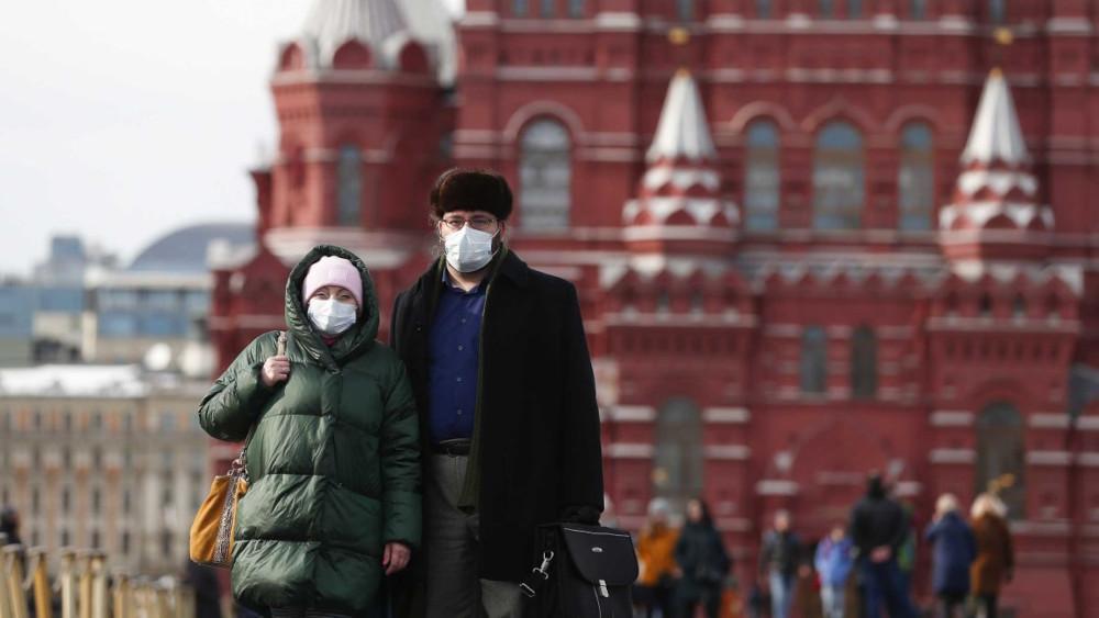 Ρωσία: Πάνω από 21.500 νέα κρούσματα