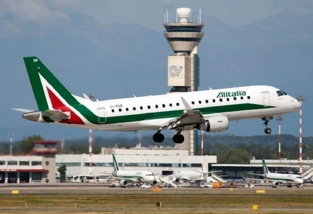 Κορωνοϊός – Ιταλία: Εγκαινιάζει πτήσεις «Covid-free» η Alitalia