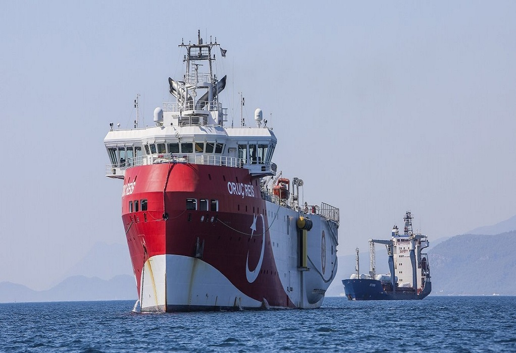 Oruc Reis: Στα 15 ναυτικά μίλια από το Καστελλόριζο