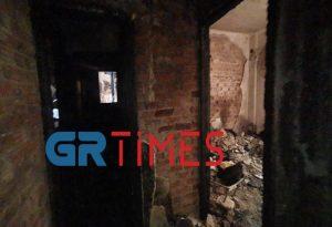 Θεσ/νίκη: Έμειναν άστεγοι μετά από πυρκαγιά σε πολυκατοικία (ΦΩΤΟ-VIDEO)
