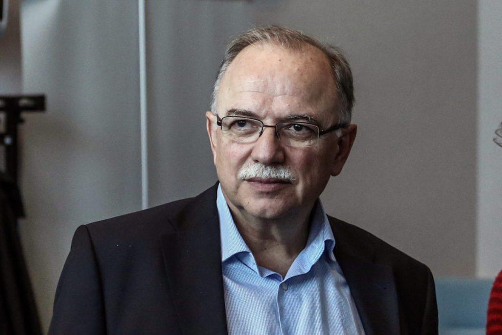 Παπαδημούλης: Πλήρης αλληλεγγύη στον πρόεδρο του Ευρωκοινοβουλίου Σασόλι