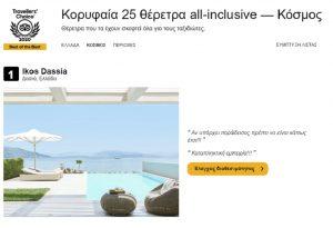 Στα κορυφαία θέρετρα του κόσμου, ξενοδοχεία του SANI/IKOS GROUP