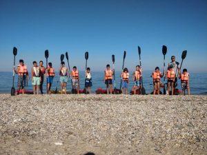 Σε εξέλιξη η προετοιμασία των ομάδων της ΧΑΝΘ στον Άγιο Νικόλαο Χαλκιδικής