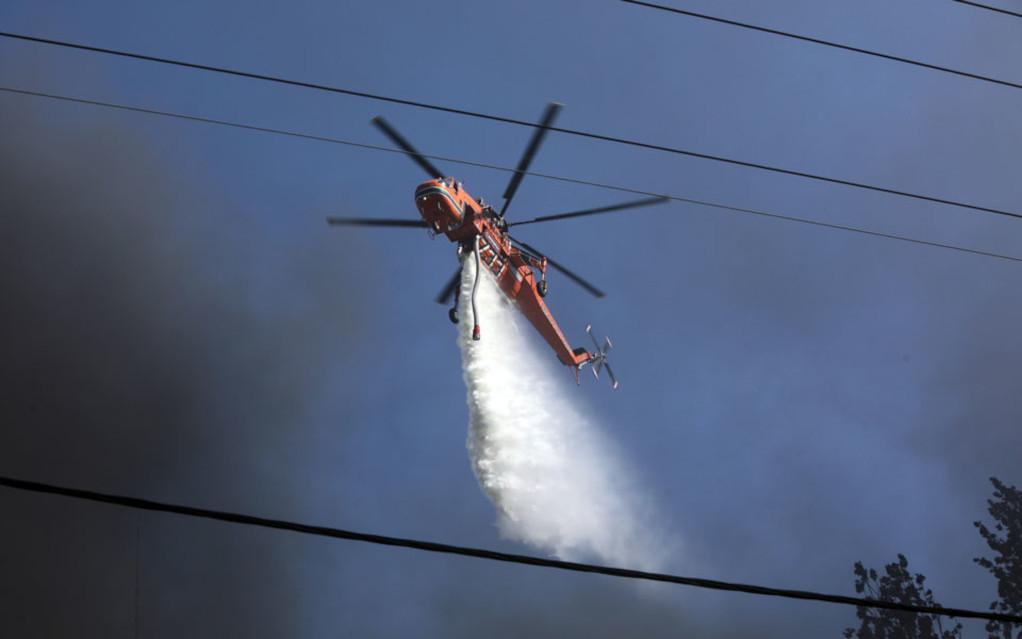 Χωρίς ενεργά μέτωπα η πυρκαγιά στη Σιθωνία