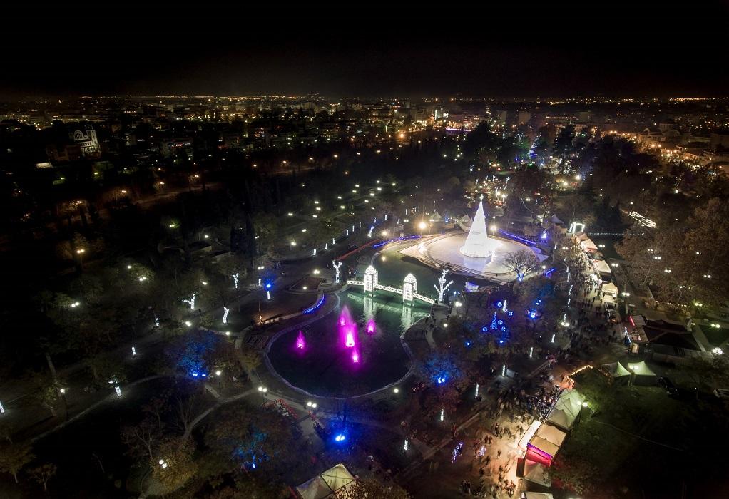 Χωρίς «Πάρκο των Ευχών» αλλά με εορταστική διάθεση η Λάρισα