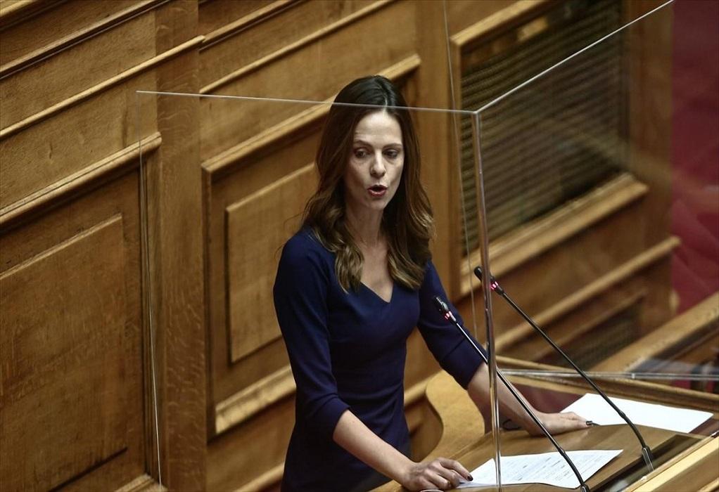 Με Αχτσιόγλου ξεκίνησε η συζήτηση για την πρόταση μομφής κατά Σταϊκούρα (VIDEO)