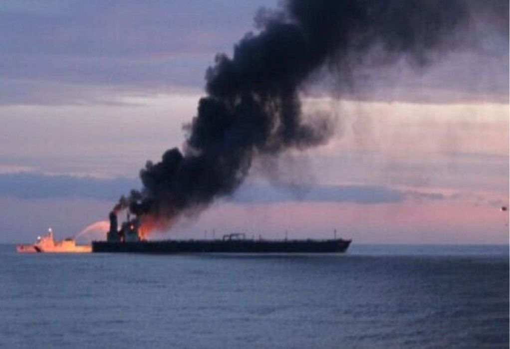 Ρωσία: Τρεις αγνοούμενοι έπειτα από έκρηξη σε τάνκερ