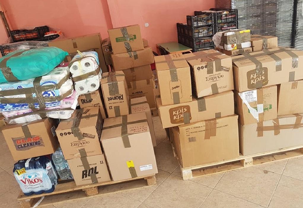 Δ. Νεάπολης-Συκεών: Παραδόθηκε η βοήθεια στους πληγέντες της Καρδίτσας