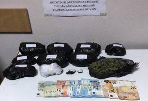 Δύο συλλήψεις για ναρκωτικά στη Θεσσαλονίκη
