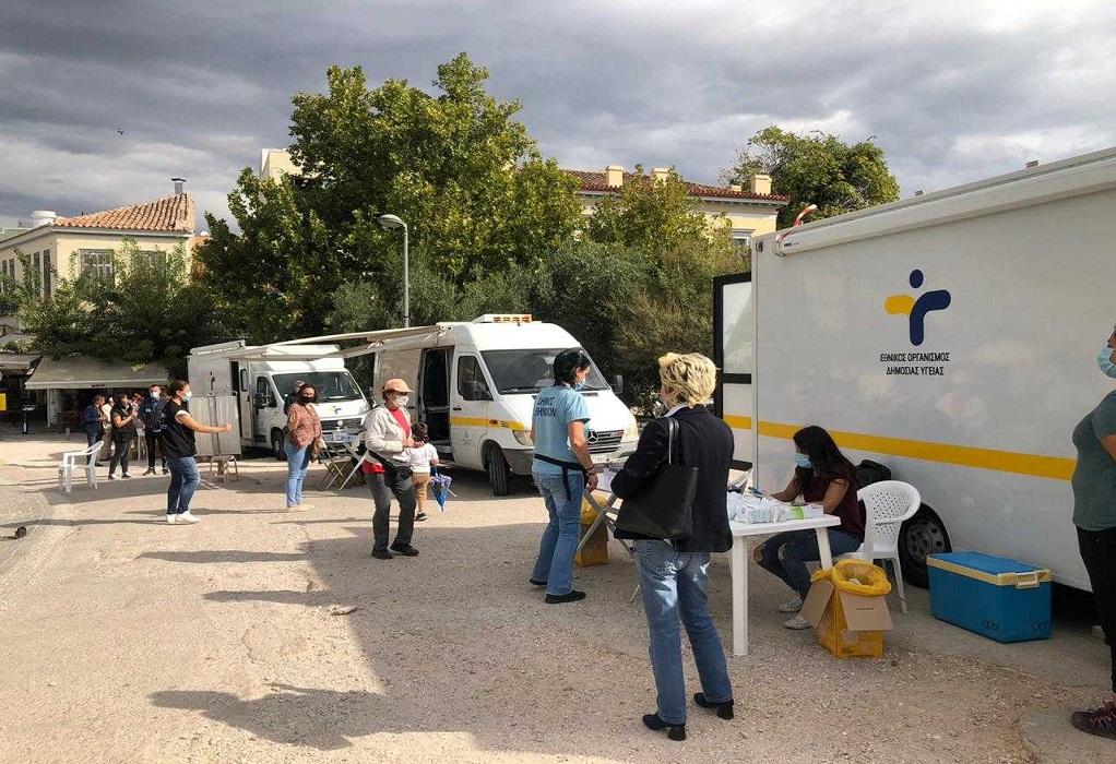 Κορωνοϊός: Τι έδειξαν τα αποτελέσματα των rapid test στο Θησείο