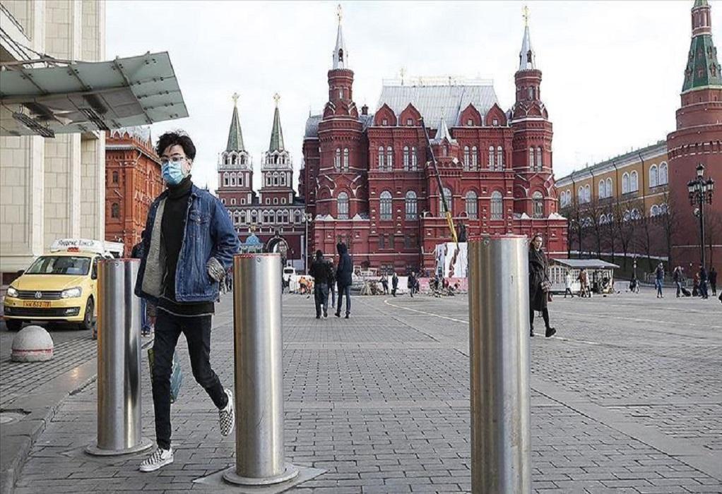 Κορωνοϊός-Ρωσία: Ημερήσιο ρεκόρ θανάτων και 15.700 νέα κρούσματα
