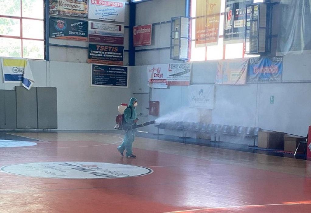 Κορωνοϊός: Κλείνει λόγω κρούσματος το δημοτικό γυμναστήριο Διαβατών
