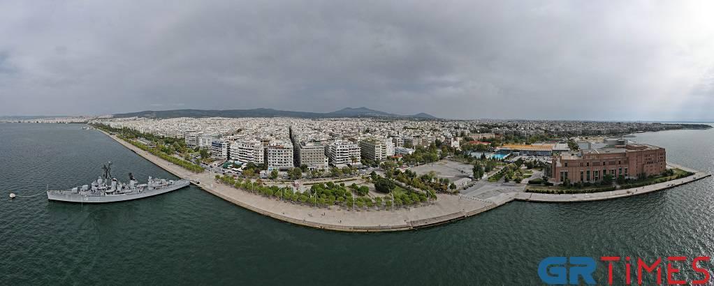 Στιγμιότυπο της Θεσσαλονίκης από drone -GrTimes (VIDEO)