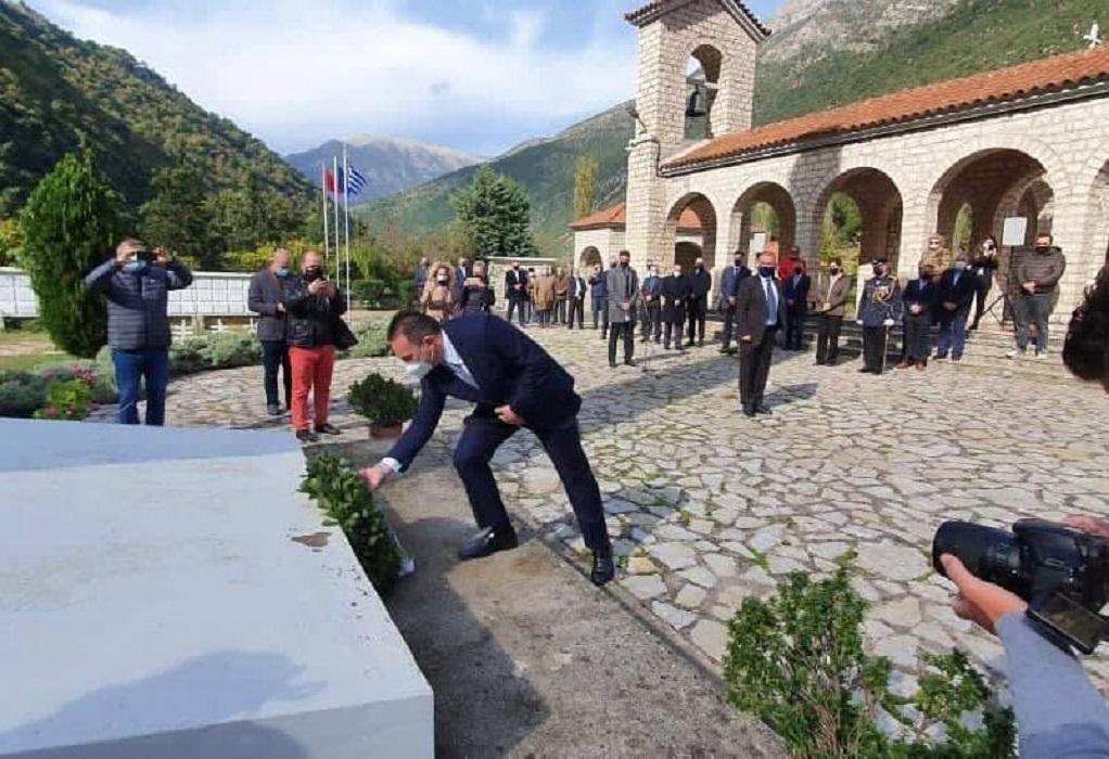Με τη δέουσα τιμή εορτάστηκε η 80η επέτειος του «ΟΧΙ» στην Αλβανία