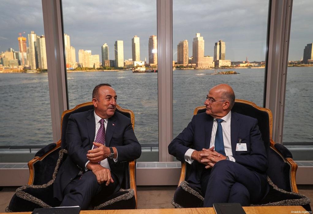Τσαβούσογλου για συνάντηση με Δένδια: Θα συζητήσουμε την συνάντηση Ερντογάν με Μητσοτάκη