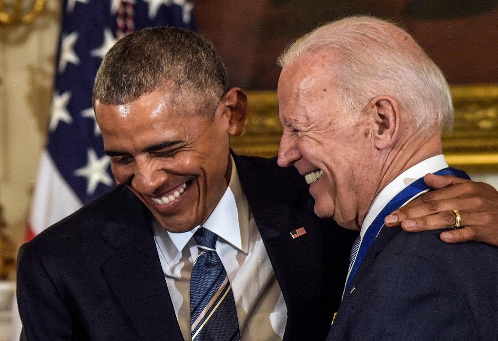 HΠΑ: Μπάιντεν και Ομπάμα μαζί για πρώτη φορά σε προεκλογική συγκέντρωση