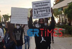 Θεσσαλονίκη: Ξανά στους δρόμους οι Νιγηριανοί (ΦΩΤΟ+ΒΙΝΤΕΟ)
