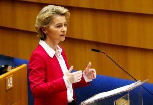 Φον ντερ Λάιεν για νέα δομή: ΕΕ και Ελλάδα εργάζονται χέρι – χέρι