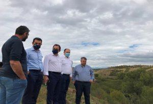 Σκρέκας: Επιτάχυνση των έργων αγροτικών υποδομών