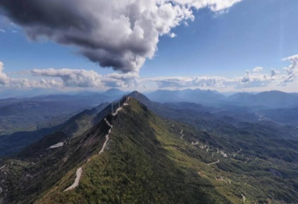 Από ψηλά… το Καλπάκι Ιωαννίνων