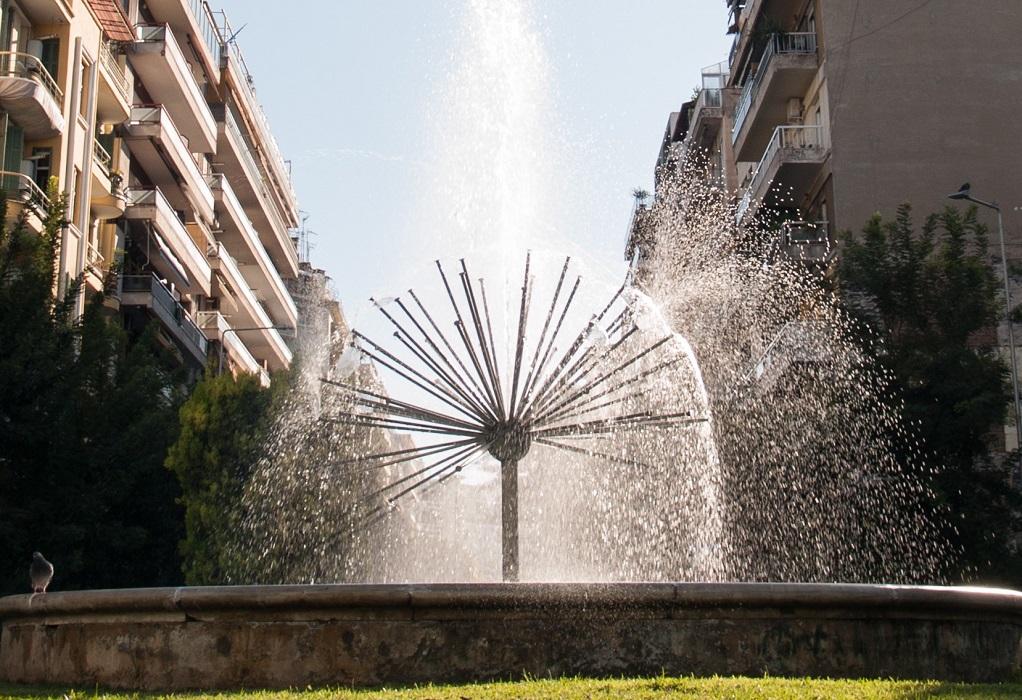 Ξανακυλάει νερό στα σιντριβάνια της Θεσσαλονίκης