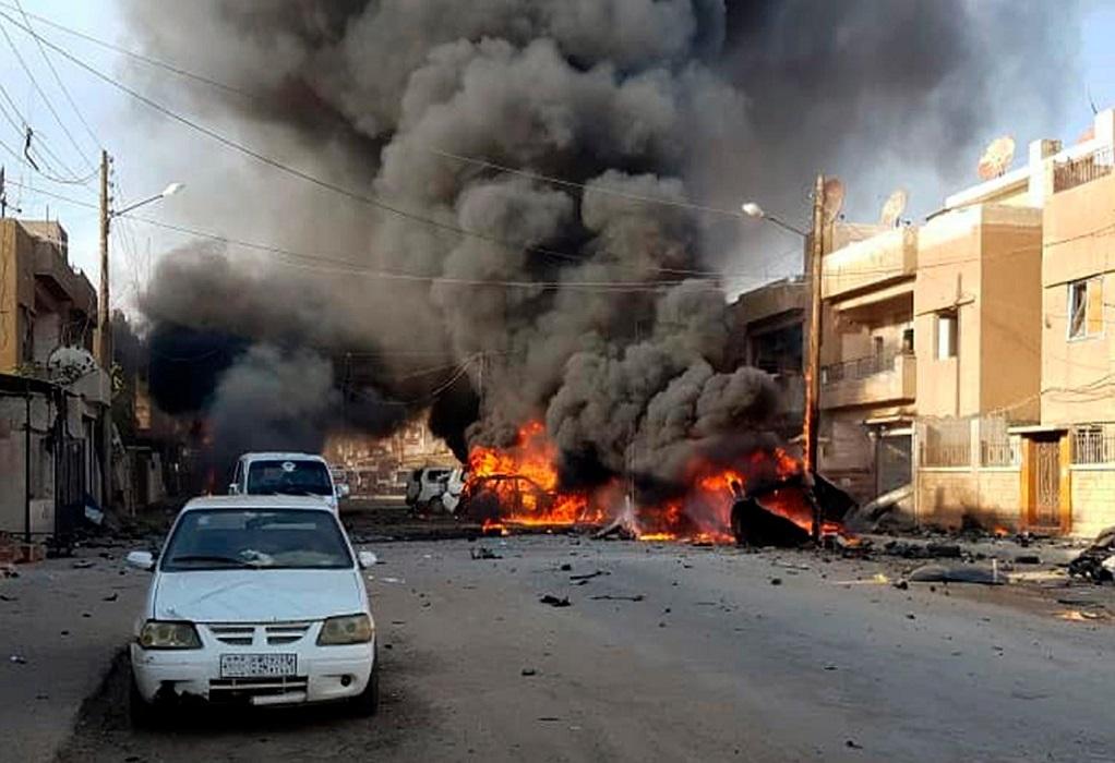 Συρία: Τουλάχιστον 14 νεκροί σε επίθεση με παγιδευμένο αυτοκίνητο