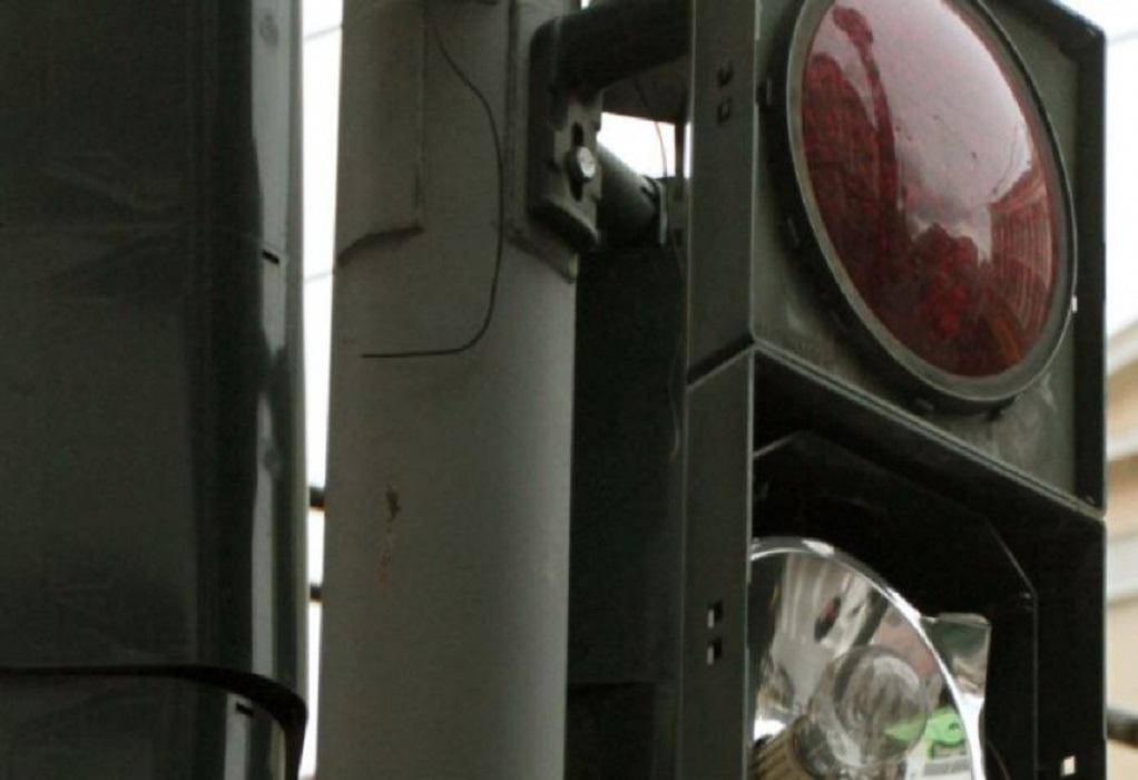 Χωρίς φανάρια λόγω βλάβης ο δρόμος Θεσσαλονίκης – Μηχανιώνας