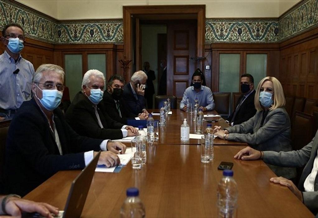 Γεννηματά: Η κυβέρνηση αφανίζει την ελληνική μικρομεσαία επιχείρηση
