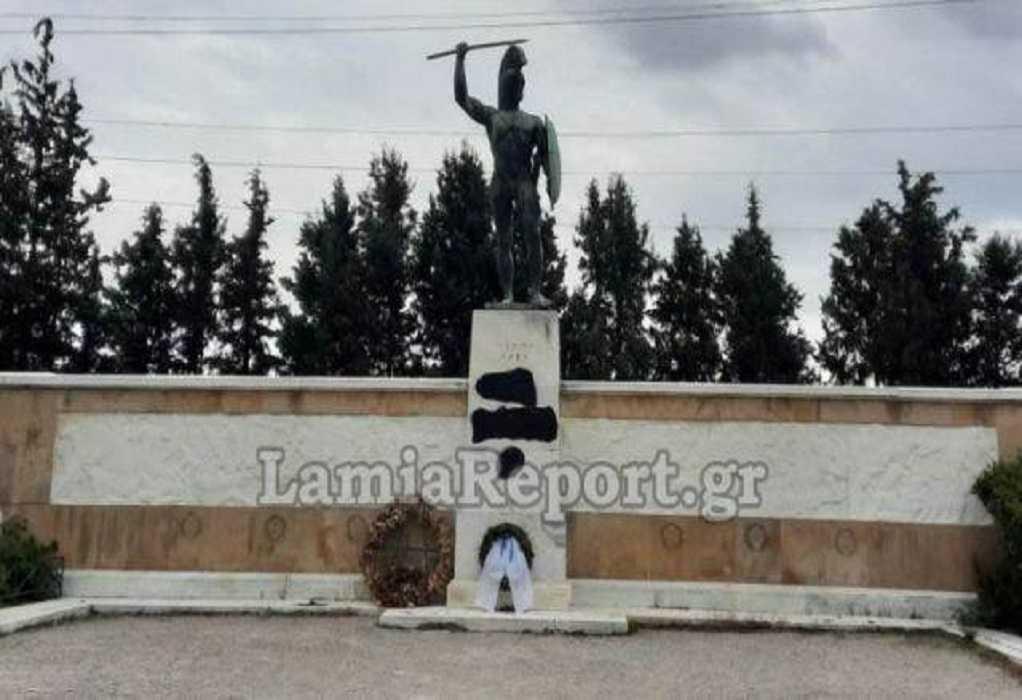 Βεβήλωσαν το μνημείο του Λεωνίδα στις Θερμοπύλες