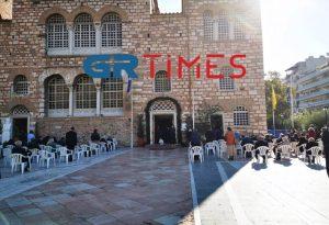 Θεσσαλονίκη: Δείτε εικόνα από τον ΙΝ Αγ. Δημητρίου (VIDEO)