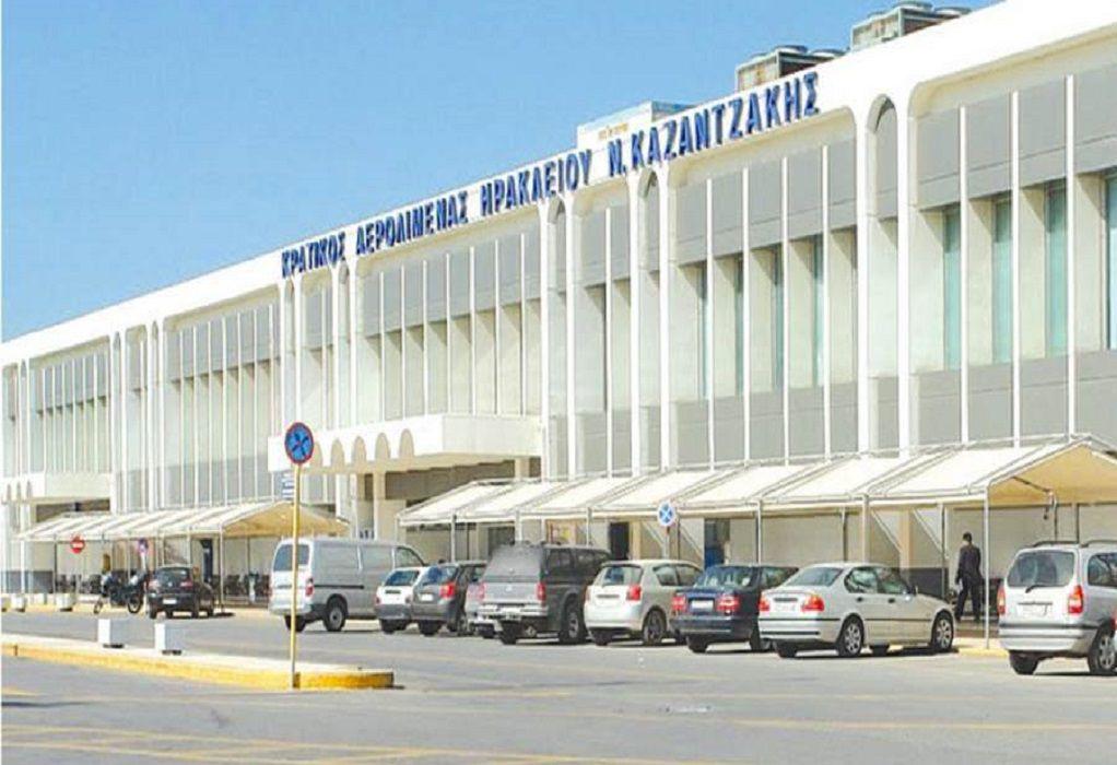 Κρήτη-Κακοκαιρία: Άνοιξε το αεροδρόμιο του Ηρακλείου