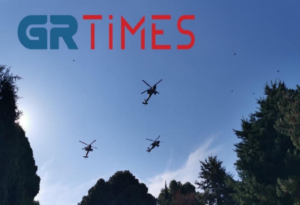 Μαχητικά αεροσκάφη στον ουρανό της Θεσσαλονίκης (ΦΩΤΟ-VIDEO)
