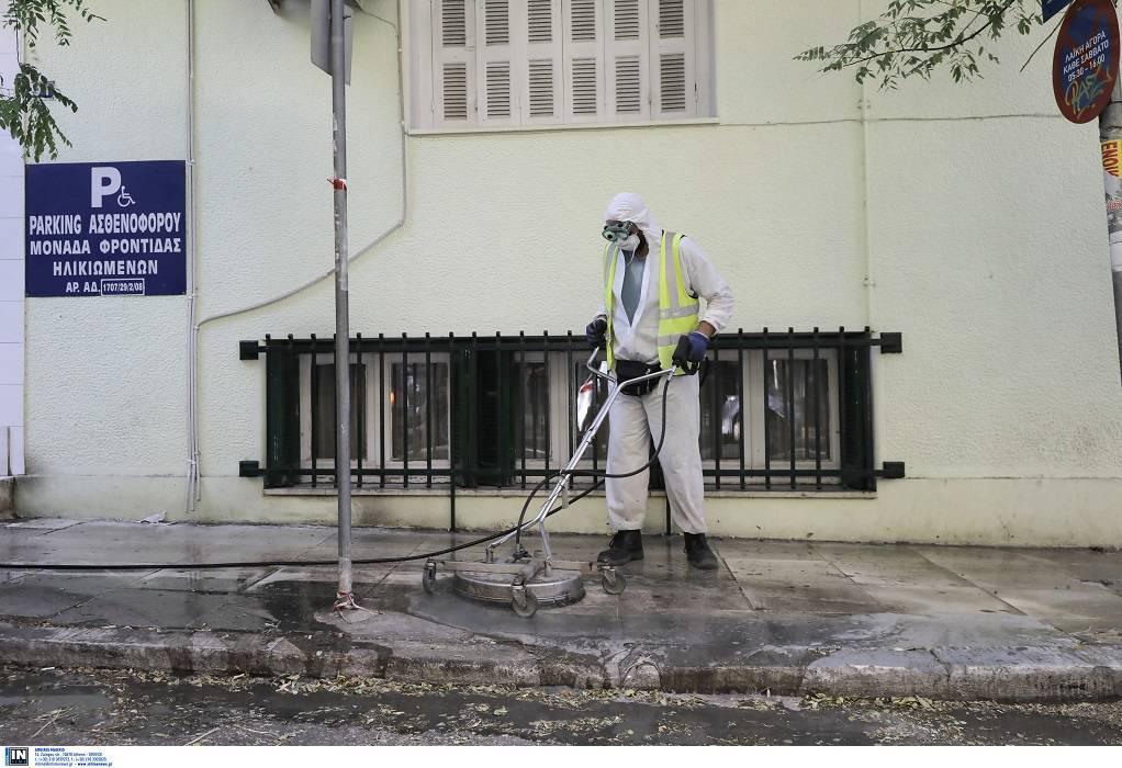 Αγ. Παντελεήμων: Απολύμανση γύρω από το γηροκομείο