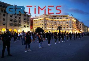 Αμμόχωστος: Διαμαρτυρία Κυπρίων φοιτητών στη Θεσσαλονίκη (ΦΩΤΟ+VIDEO)