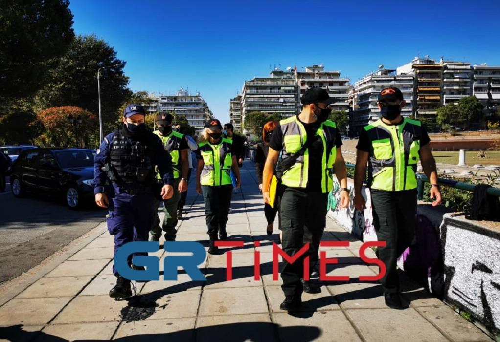 Επιχείρηση «πλατείες»: Έλεγχοι ΕΛ.ΑΣ και Δημοτικής Αστυνομίας στη Θεσσαλονίκη (ΦΩΤΟ+VIDEO)
