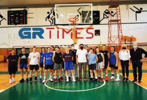 Αυτοψία Αυγενάκη σε αθλητικές εγκαταστάσεις στη Δ. Θεσσαλονίκη