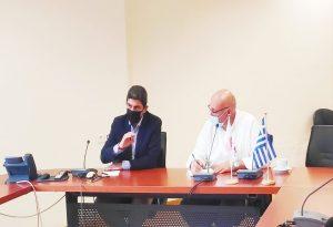 Στο Πανεπιστήμιο Κρήτης ο Λευτέρης Αυγενάκης