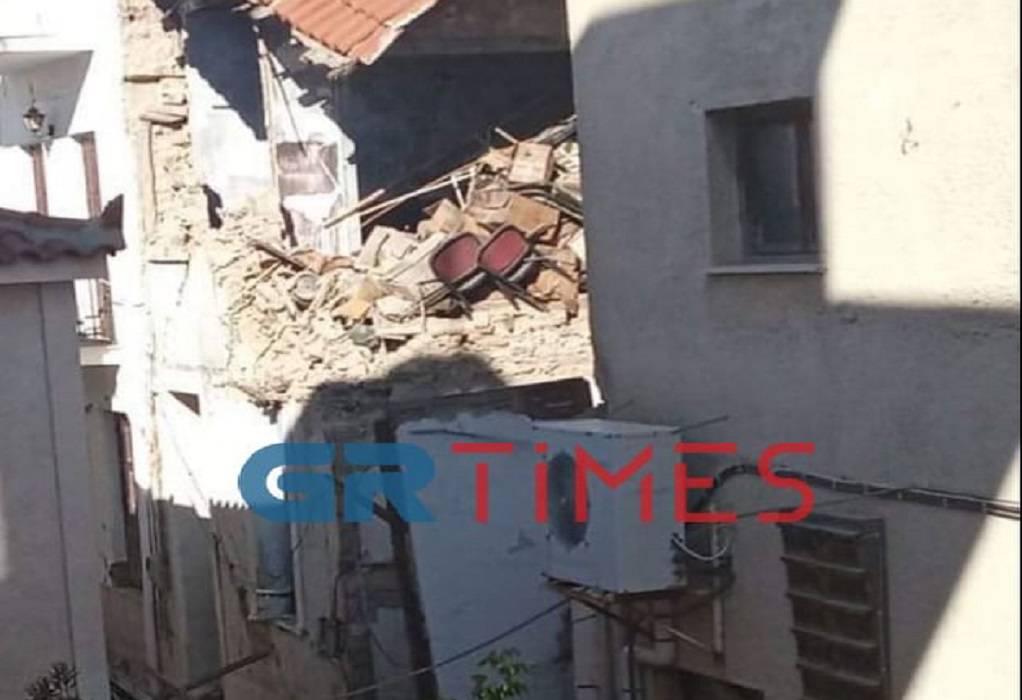 Μεγάλες καταστροφές στο Βαθύ (ΦΩΤΟ)
