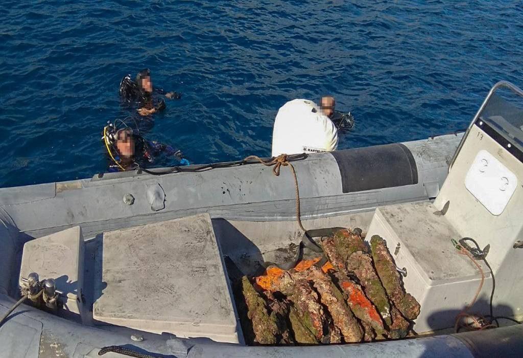 Εξουδετέρωση Πυρομαχικών στον κόλπο Μονεμβασιάς (ΦΩΤΟ+VIDEO)