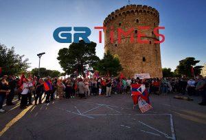 Θεσσαλονίκη: Συγκέντρωση Αρμενίων για το Ναγκόρνο-Καραμπάχ (ΦΩΤΟ-VIDEO)