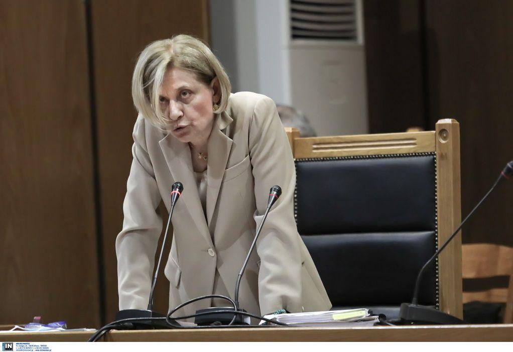 Δίκη ΧΑ: Αμετακίνητη η εισαγγελέας – Εμμένει στην πρότασή της