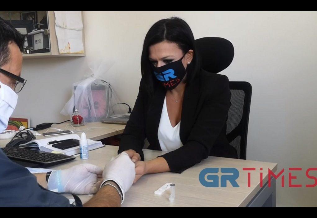 Δοκιμάζουμε ένα rapid test κορωνοϊού – Όλη η διαδικασία (VIDEO)