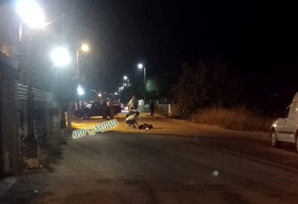 Άργος: Νεκρή 30χρονη που επέβαινε σε μηχανή (VIDEO)